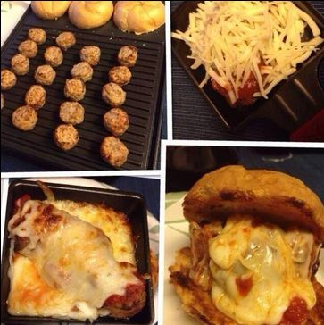 Loaded sliders, courtesy of the #Velata #Raclette! Thanks to @ditchthewick for the photo!