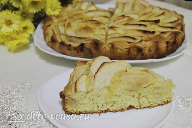 Цветаевский пирог с яблоками #цветаевскийпирог #пироги #яблока #яблочныйпирог #сладкаявыпечка #рецепты #деловкуса #готовимсделовкуса