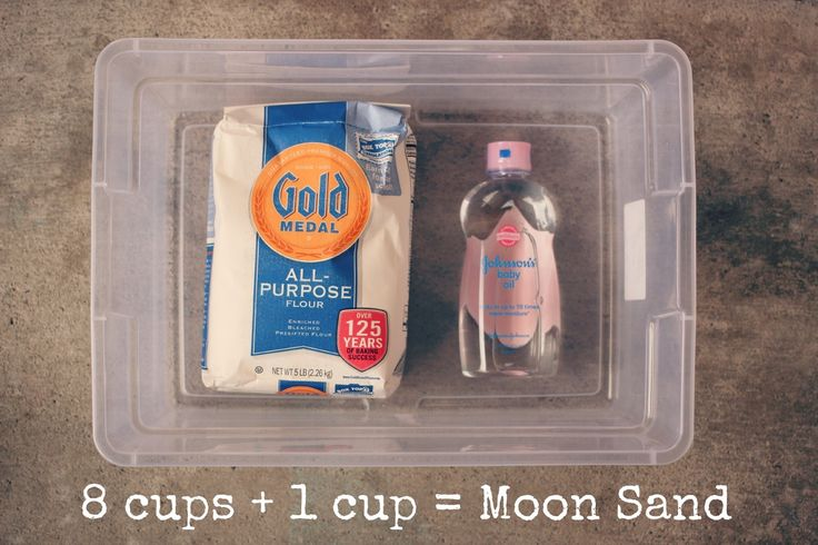 Love This Crazy Life // Moon Sand recipe and review