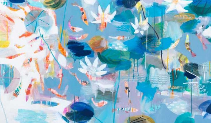 Becky Blair Batemans in July 16.5x28.25 | Contemporary Art