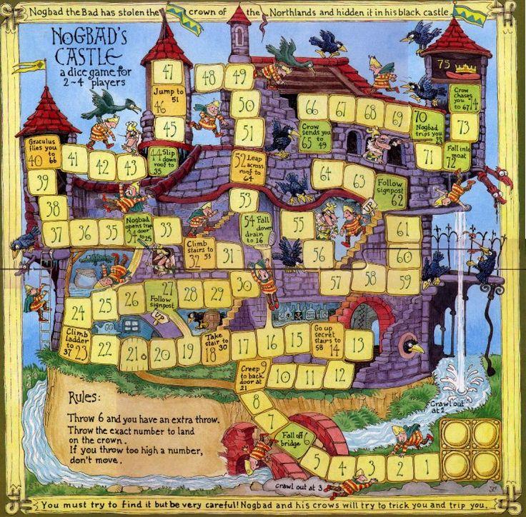 Noggin The Nog Board Games Board Games Pinterest