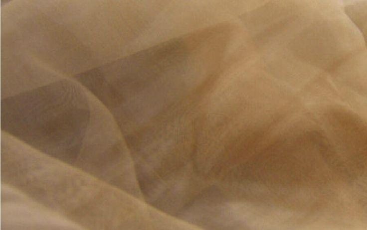 "huid naakt kleur 150cm 59"" breedte 30 meter zachte organza tule gaas stof doek voor bruiloft bruids jurk kostuum tutu fee rok(China (Mainland))"