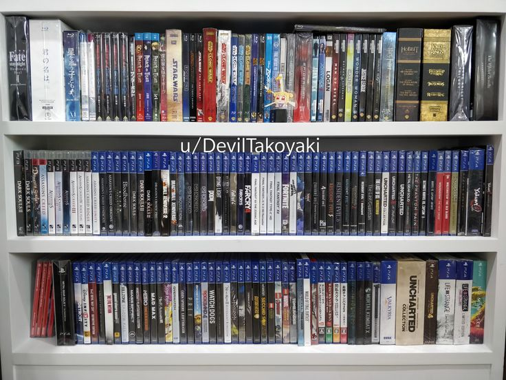 An updated on my PS4 video game collection! Video games