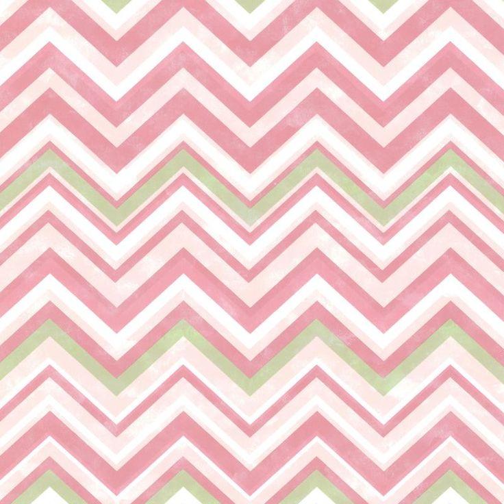 Brewster HAS47293 Susie Pink Chevron Wallpaper Pink Chevron Home Decor Wallpaper Wallpaper