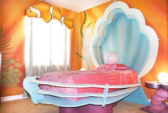 Disney inspired kids rooms by #HGTV's David Bromstad