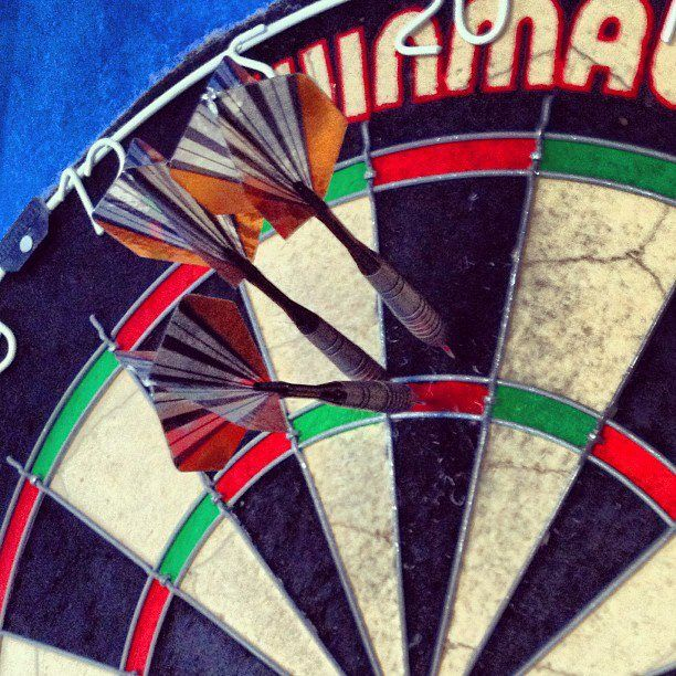 Darts so close to 180!