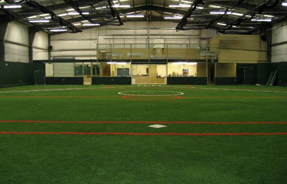 Indoor Turf Field The Basement Not Quite So Big