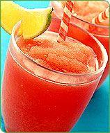 Frozen Watermelon Virgin Margaritas