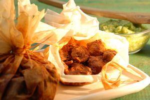 Barbacoa de res en mixiote | Cocina y Comparte | Recetas de @Alicia Gironella De'Angeli