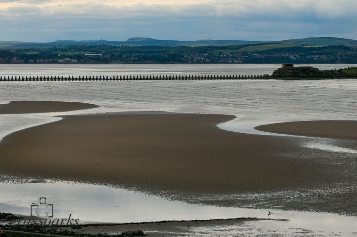 Crammond low tide