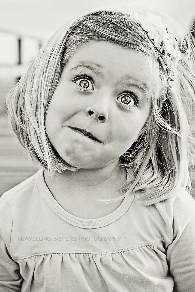 Can you imagine how strong this child will be?  Minha cara de quem quer aprontar uma hihihihiihih!