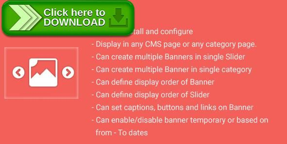 [ThemeForest]Free nulled download Banner Slider Magento2 extension from http://zippyfile.download/f.php?id=38906 Tags: ecommerce, banner, banner slider, drcsystems, jquery slider, magento, magento 2, magento extension, Magento2, magento2 extension, slide show, slider, sliders, slideshow, User Interface enhancement