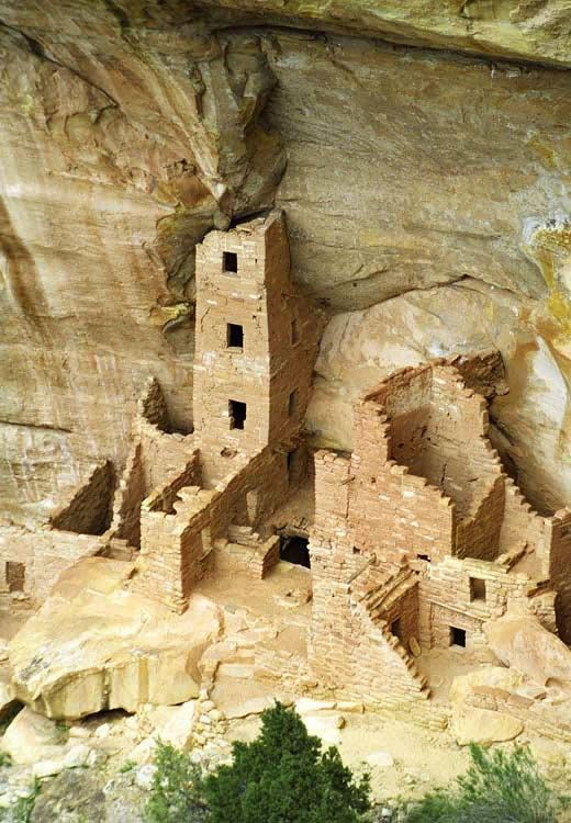 Mesa Verde National Park, Colorado. With over 5,000 ancient Pueblo ruins that date back to 600 A.D.