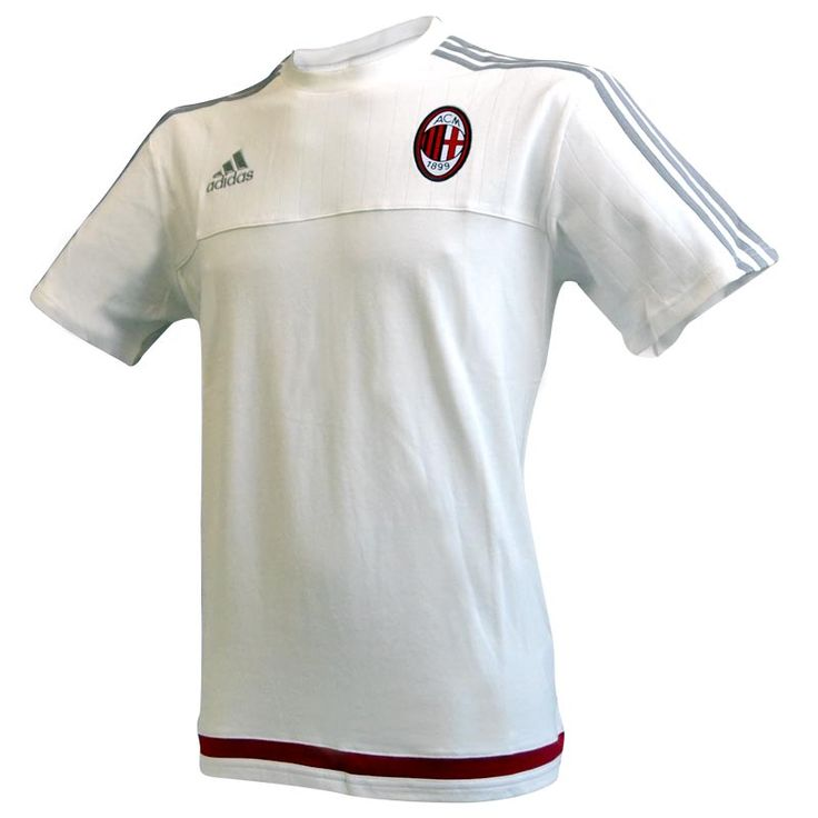 Milan T-Shirt Allenamento Bianca 2015-16