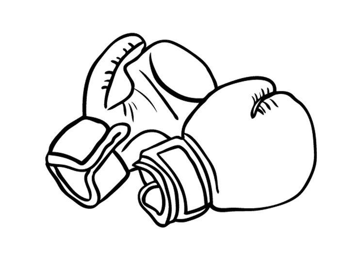 Картинки по запросу боксерские перчатки рисунок карандашом
