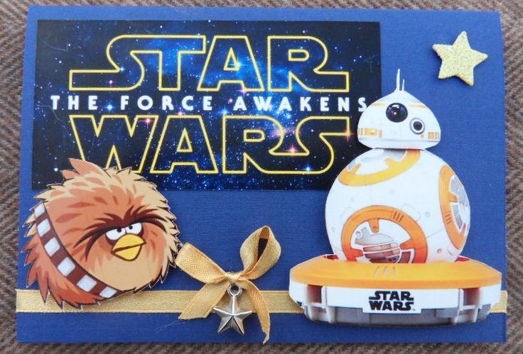 Star wars card  - Star wars kaart