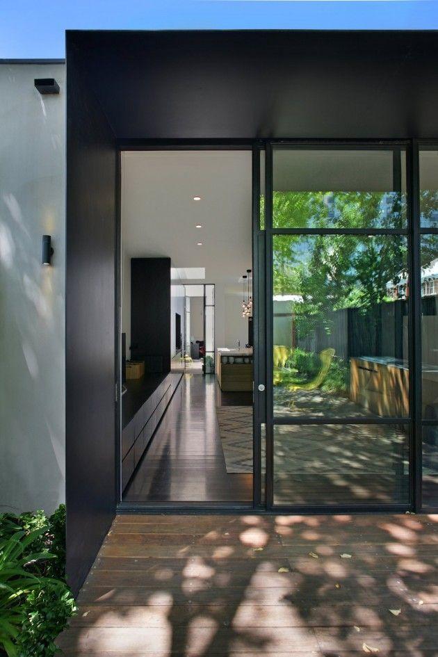 Nice decking and doors