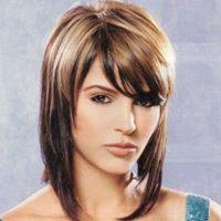 ทรงผมบ๊อบยาวประบ่า: Hair Ideas, Haircuts, Hairstyles, Medium Length, Shoulder Length, Hair Styles, Hair Cuts, Shag Hairstyle