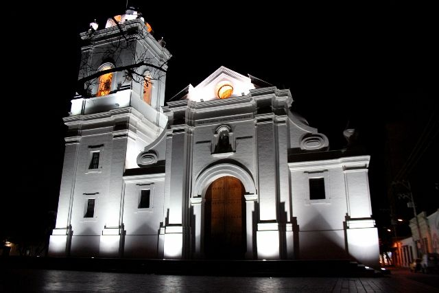 Santa Marta, Colombia. La catedral mas antigua de Colombia
