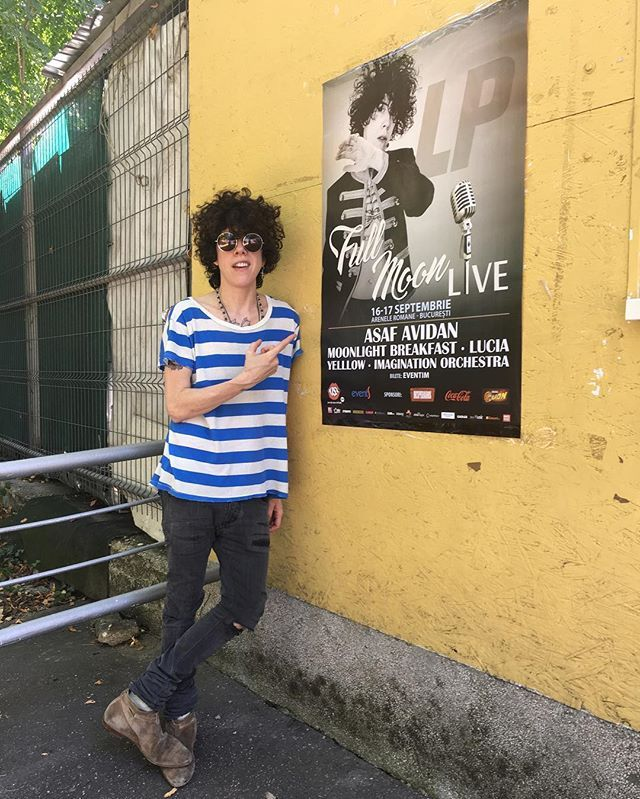 Who the fuck is that? In Romania?? Yep me and my band too !! Can't wait to see you all at #FullMoonLive tonight!! #bucharest