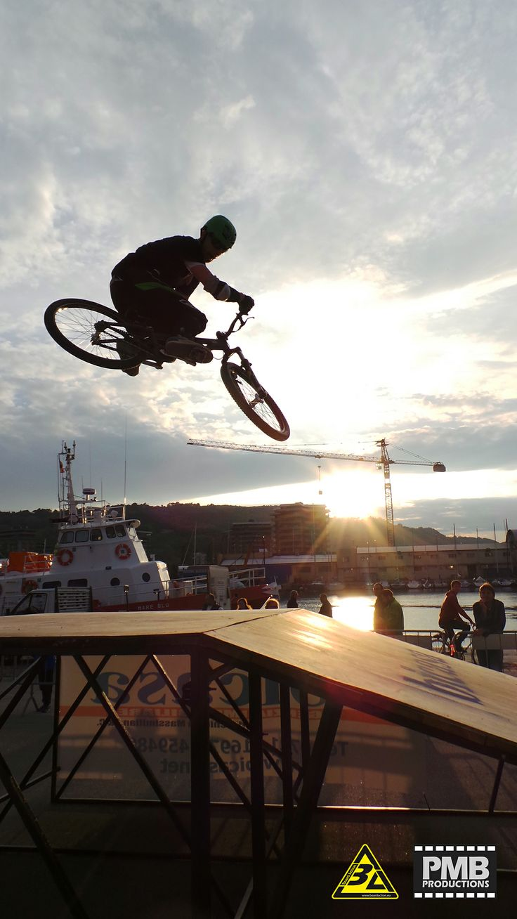 """riding at sunset in Pesaro with my friend Filippo """"local"""" Contardi"""