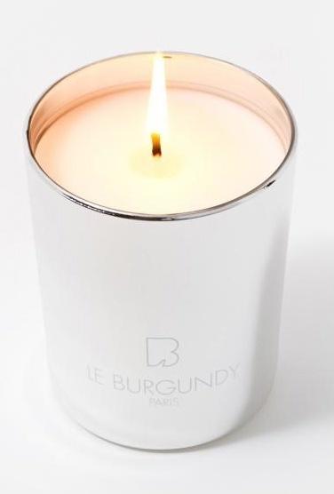 Le Burgundy Candle