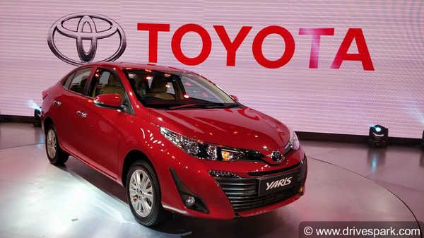 Auto Expo 2018: Toyota Yaris Unveiled