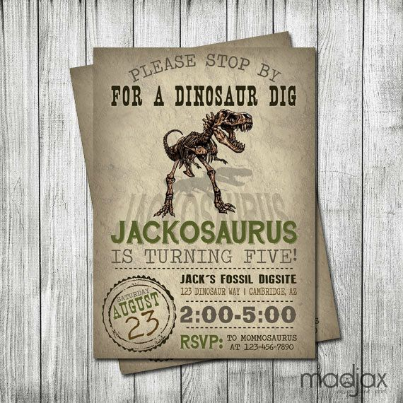 1000+ Images About Dinosaur Themed Birthday Party Ideas On