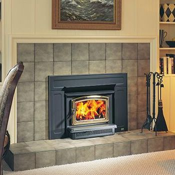 Choose the Vista Pacific Energy | Wood Burning Insert for heating in smaller fireplaces. The Vista provides more heat from less fuel.