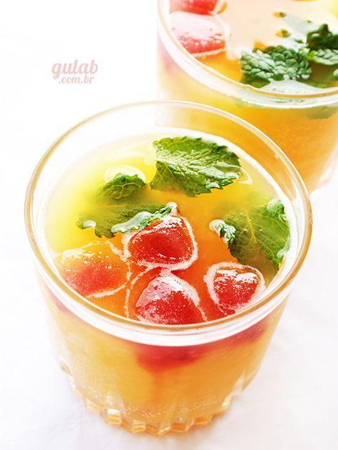 Drink de verão - Sem álcool - Gulab                                                                                                                                                                                 Mais