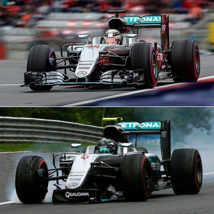 GP da Áustria: duelo de Mercedes! @LewisHamilton venceu a corrida superando @NicoRosberg na última volta. O alemão mandou o inglês para grama que agora está apenas 11 pontos do líder. Rosberg terminou em quarto. Verstappen ficou em 2º e Räikkönen na terceira posição. @FelipeNasr ficou na 13ª enquanto Massa acabou abandonando.  Próxima corrida é semana que vem no GP do Reino Unido.  1  44  Lewis Hamilton  Mercedes  71  1:27:38.107  25 2  33  Max Verstappen  Red Bull Racing TAG Heuer  71…