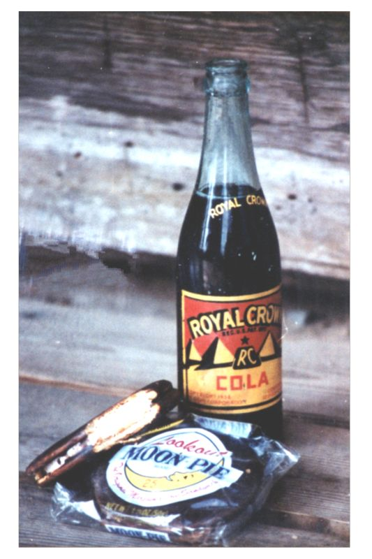 RC Cola & Moon Pies for a long adventure.