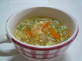 *簡単*お野菜たっぷり☆春雨スープ☆ by プニタロー 【クックパッド】 簡単おいしいみんなのレシピが276万品