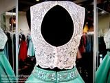 White/Mint Two Piece Ball Gown-Pockets-Lace Crop Top-116RA0X10010 at Rsvp Prom and Pageant, your source for the HOTTEST prom and pageant dresses!