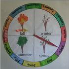 Circular Seasons and Months Chart/Calendar