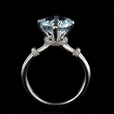 This is aquamarine, but I want a diamond :)