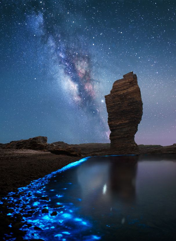 Standing between the heaven and earth…** by Baofu Sun on 500px.com dalian china
