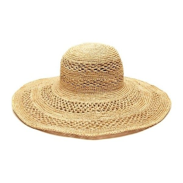 Mar Y Sol Sienna Wide Brim Sun Hat in Natural (4,640 PHP) ❤ liked on Polyvore featuring accessories, hats, beach hat, wide brim sun hat, mar y sol, wide brim hat and sun hat