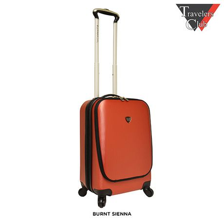21' Expandable Hardside Rolling Carry-On with Laptop Front Pocket - Assorted Colors