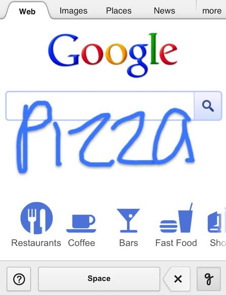 Google Augments Mobile Search With Handwriting Recognition