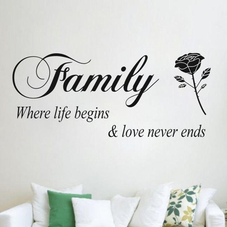 Family Quote - BigWallPrints.com