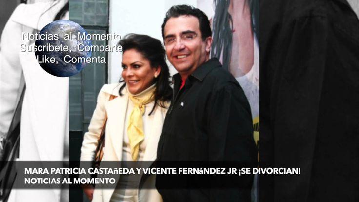 Mara Patricia Castañeda y Vicente Fernández Jr ¡se divorcian!