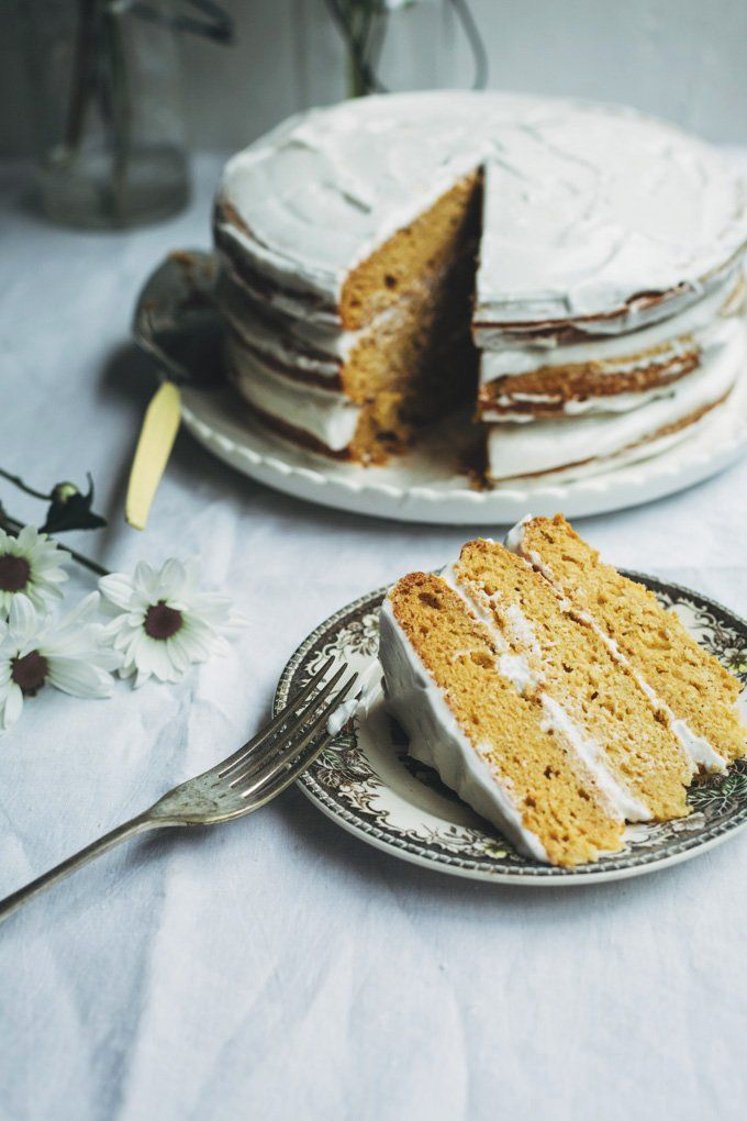 Inspired by Spring, this vegan toasted coconut yoghurt naked cake is an easy to make celebration cake everyone will love, not just vegans.