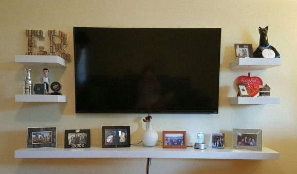 Schicke Und Moderne Tv Wandhalterung Ideen Fur Wohnzimmer