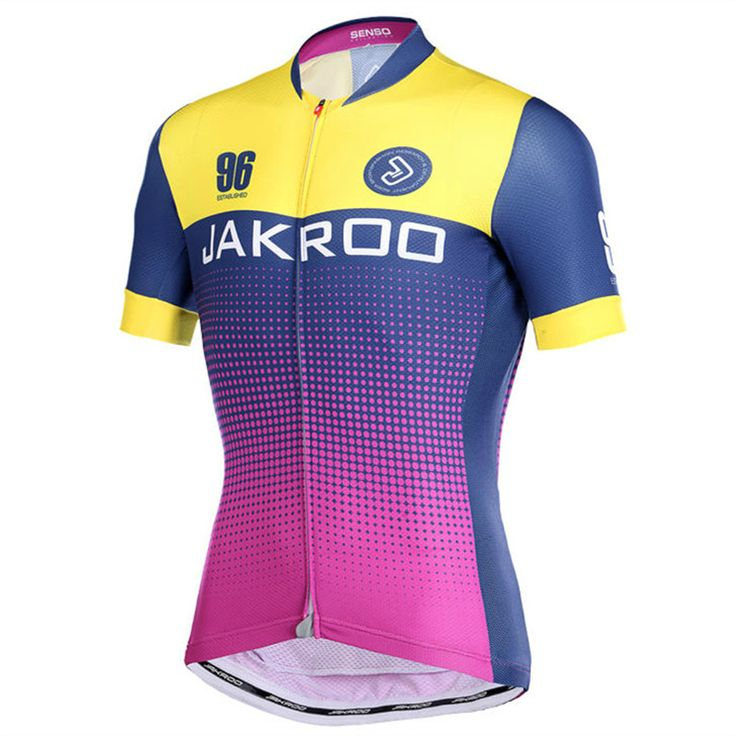 Jakroo TRADE Men's Short Sleeve Cycling Jersey Anti-discoloration Breathable Sweat-releasing Cycling Clothing Bicycle Equipment