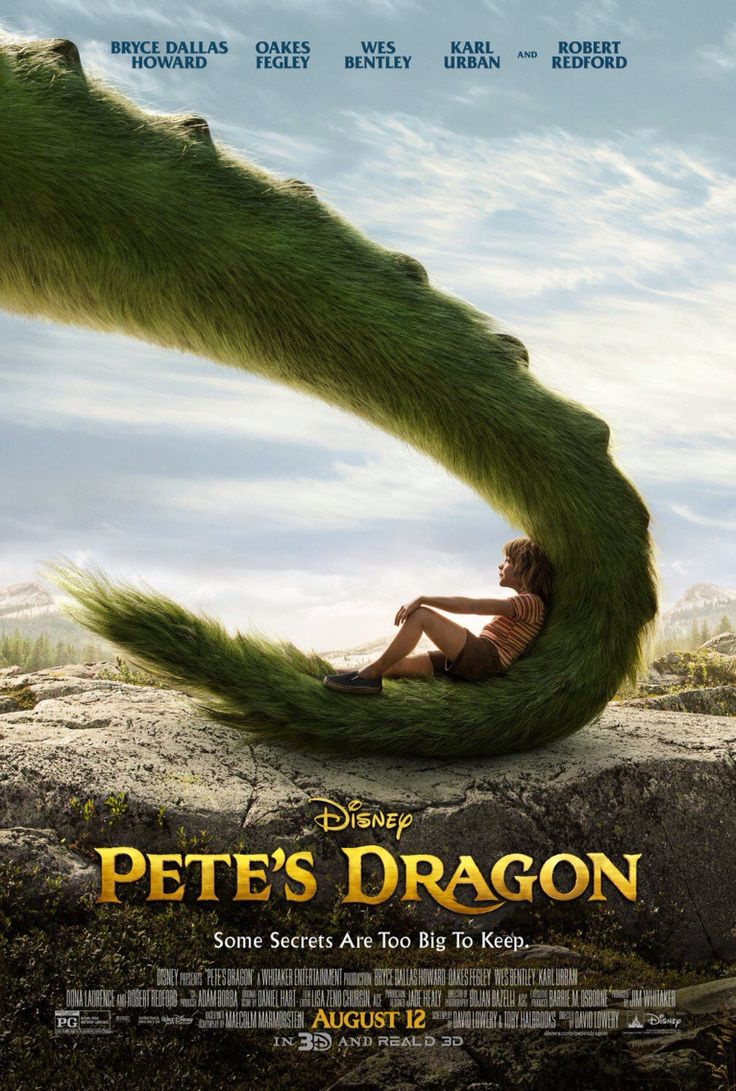Pete's Dragon (2016) Bryce Dallas Howard and Robert Redford.