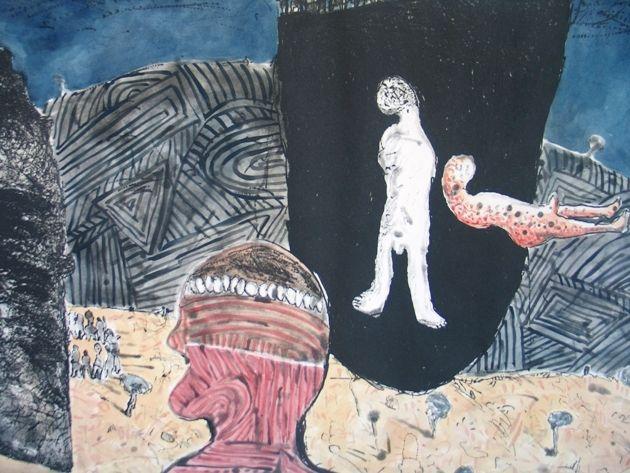 Motaga II by Colbert Mashile | DAVID KRUT PROJECTS