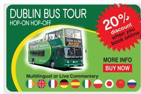 Dublin Tours, Dublin Attractions Dublin Bus Sightseeing Tours