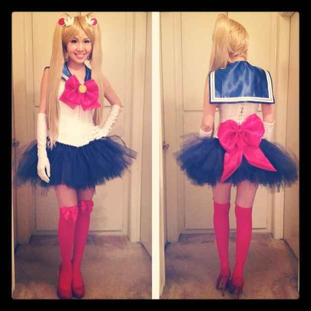 Sailor Moon | 18 Fantastic Halloween Costume Ideas For '90s Girls