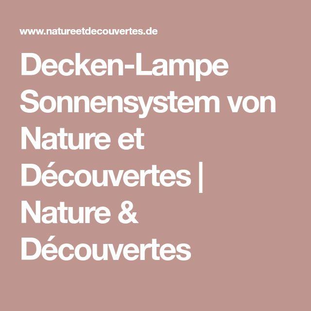 Decken-Lampe Sonnensystem von Nature et Découvertes | Nature & Découvertes